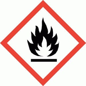 Symbol Brannfarlig