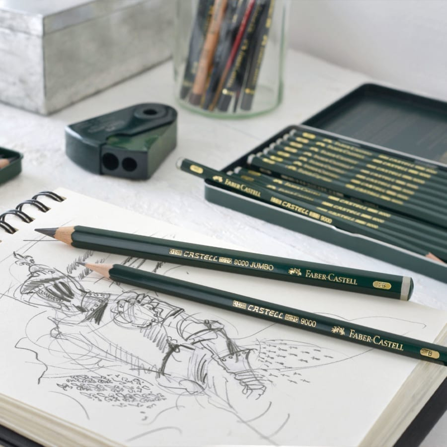FAB Castell 9000 Graphite Pencils