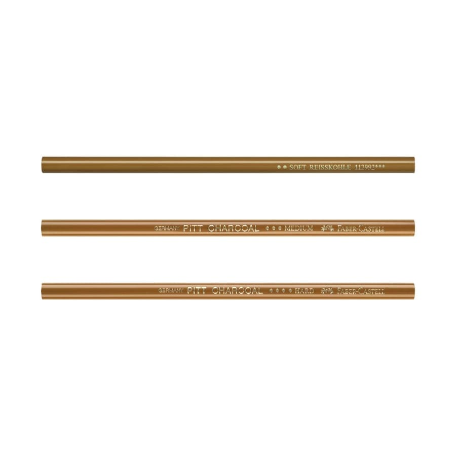 FAB PITT Charcoal Pencils