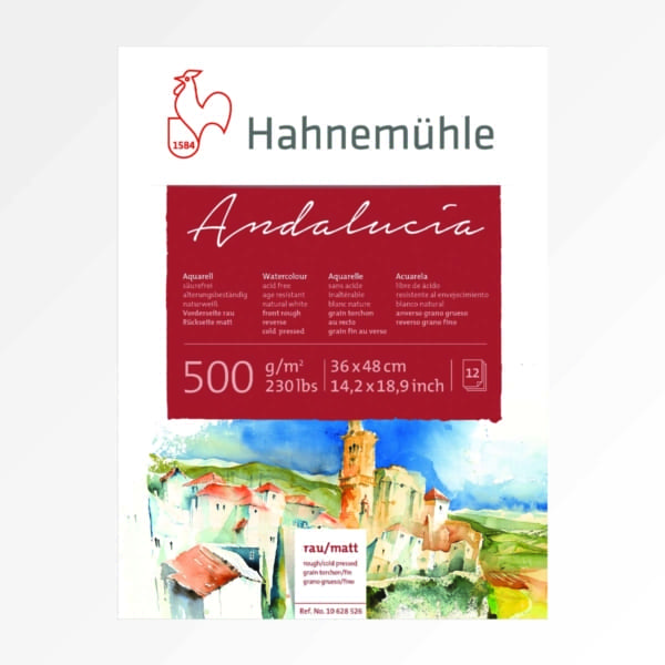 HAH Andalucia Akvarellblokk