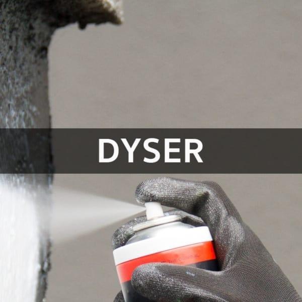 Spraymaling Dyser