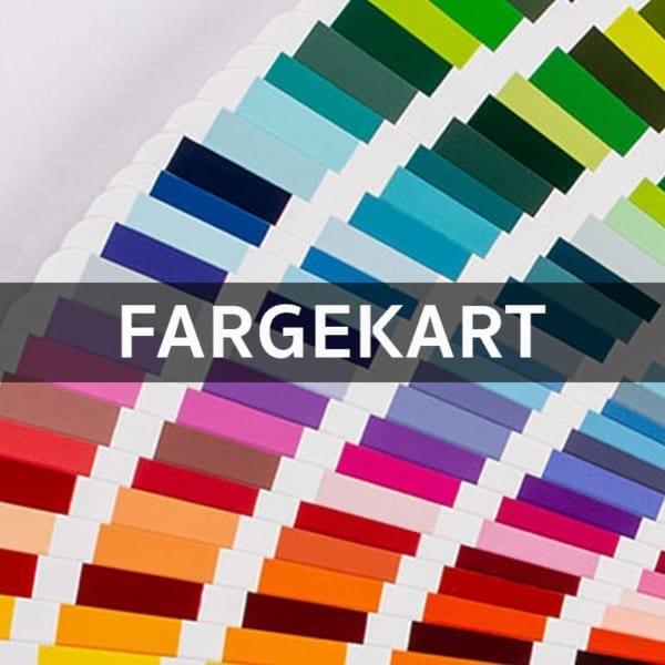 Akrylmaling Fargekart