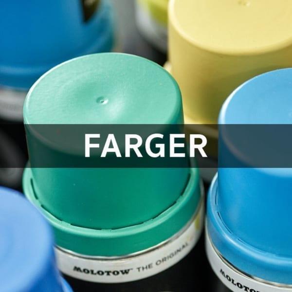 Spraymaling Farger