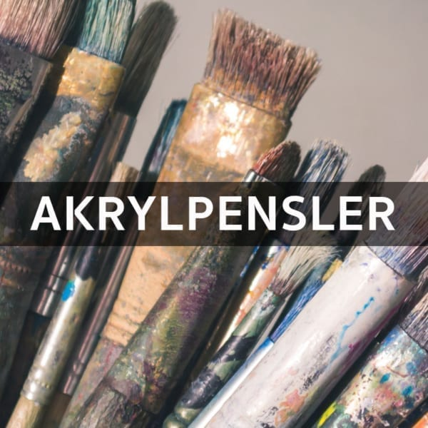 Akrylpensler